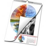 tisk nástěnných foto kalendářů