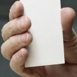 papír na vizitky